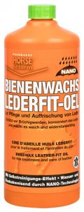 Horse Fitform Bienenwachs Lederfit-Öl 1 Liter Flasche