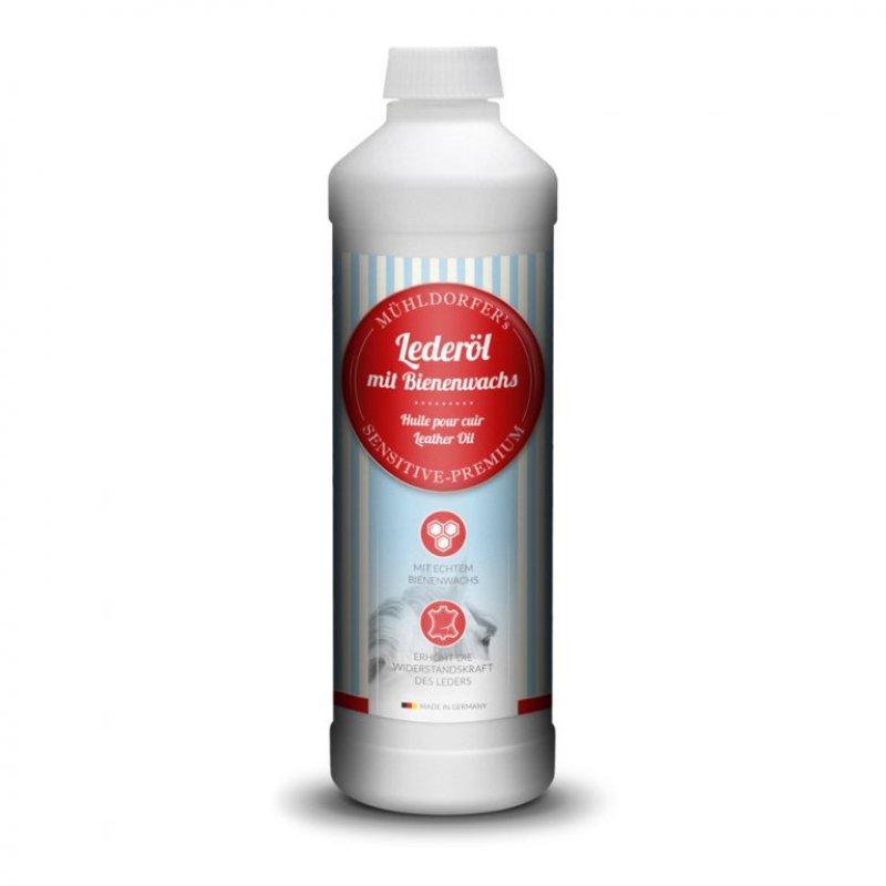 Mühldorfer Pferdefutter Lederöl mit Bienenwachs 500 ml