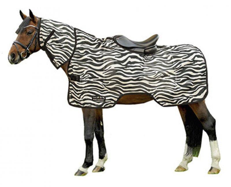 HKM Fliegenausreitdecke -Zebra-