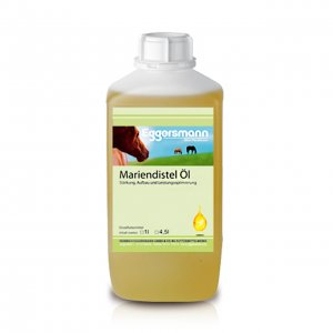 Eggersmann Pferdefutter Mariendistel Öl