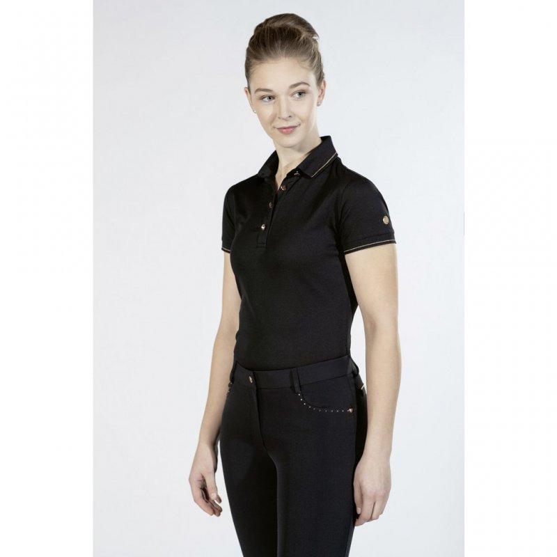 HKM Poloshirt -Rosegold Glamour- Style