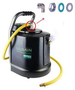 HAYGAIN Ersatzpaket 90-Grad-Bogen Bedampfer HG600 / HG2000 / HG2002
