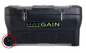 HAYGAIN Ersatzreifen mit Zubehör HG2000 / HG2002