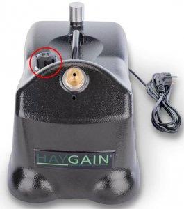 HAYGAIN Verschlusskappe HG-One Bedampfer