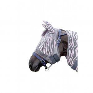 HKM Fliegenschutzmaske -Zebra Rose-